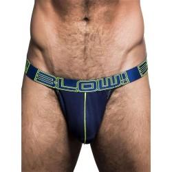 Andrew Christian Blow! Sexy Mesh Arch Jock Underwear Navy (T5488)